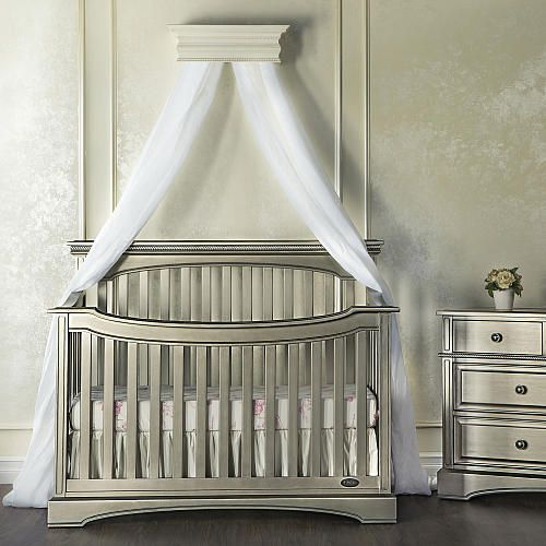 $459.99 Evolur Catalina Flat Top Collection Convertible Crib - Pewter - Evolur - Babies  R & $459.99 Evolur Catalina Flat Top Collection Convertible Crib ...