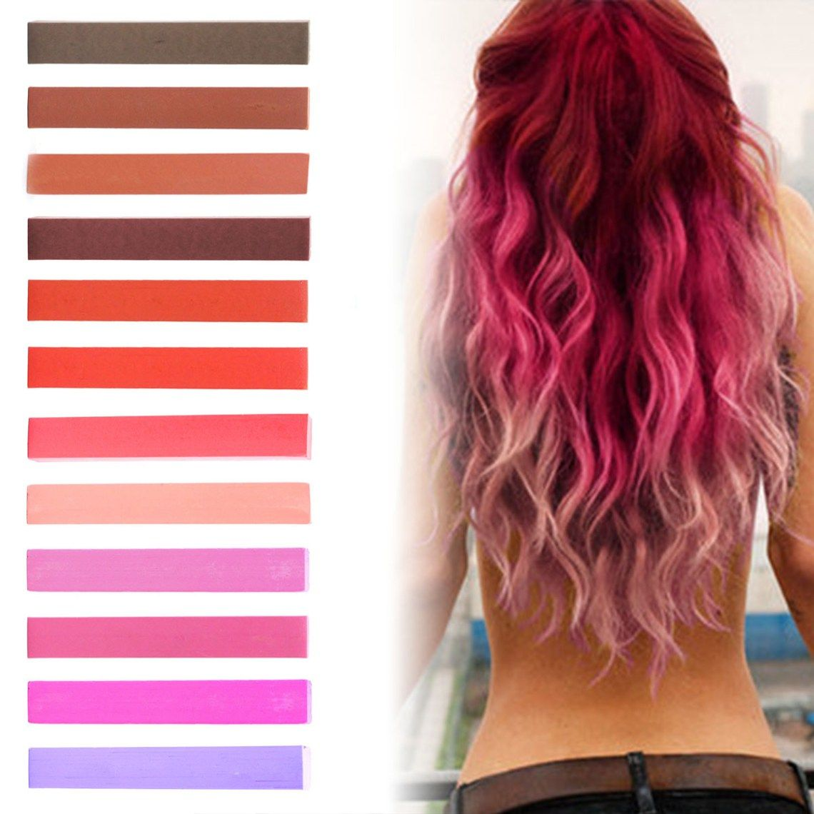 Best Big Red Pink Ombre Hair Dye Hair Color Pinterest Pink