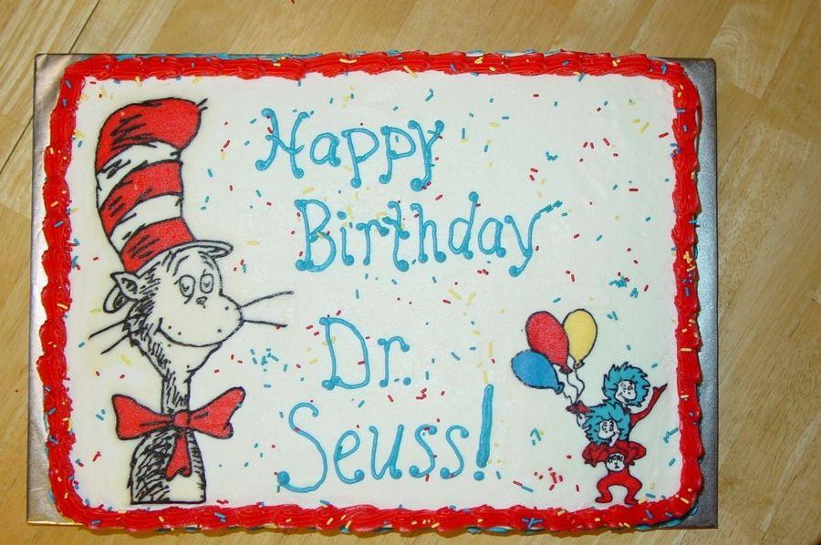 Prime Dr Seuss Birthday Cake Dr Seuss Birthday Seuss Cakes Birthday Funny Birthday Cards Online Sheoxdamsfinfo