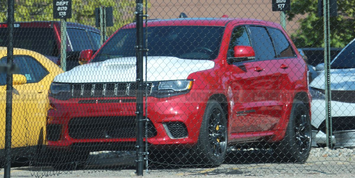 Looks Like Jeep Is Working On An Even Crazier Grand Cherokee