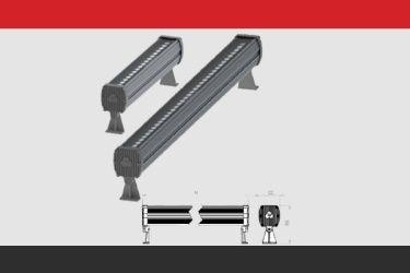 Ledli Duvar Boyama Armatürleri LPS1Y 18 W