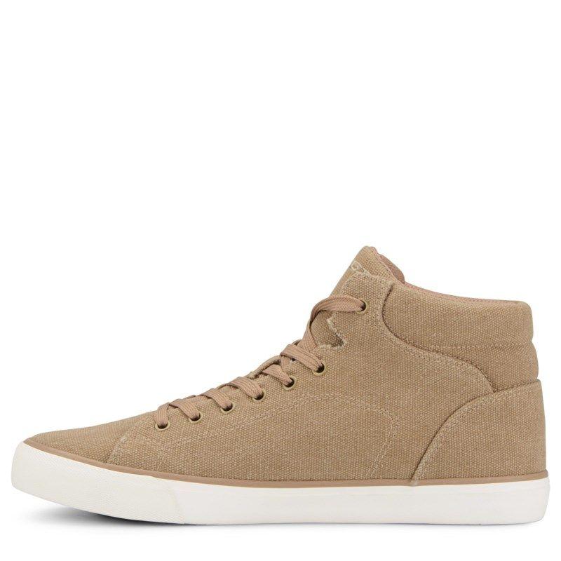 Mens Lugz King High Top Sneaker Golden TanWhiteGum