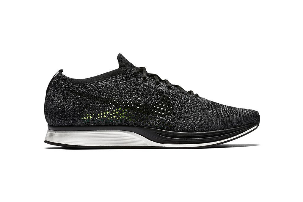 43246c4f3649 Nike Flyknit Racer Black Anthracite White