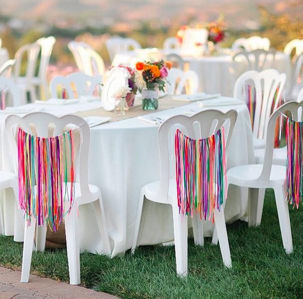 Love the White // Neutral + A splash of color   Backyard ...