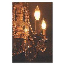 """Shabby Chandelier Bling 2-Gold-TISSUE WRAP PAPER 10"""" X 15"""" Tissue Paper #gold #chandelier #tissuewrap"""