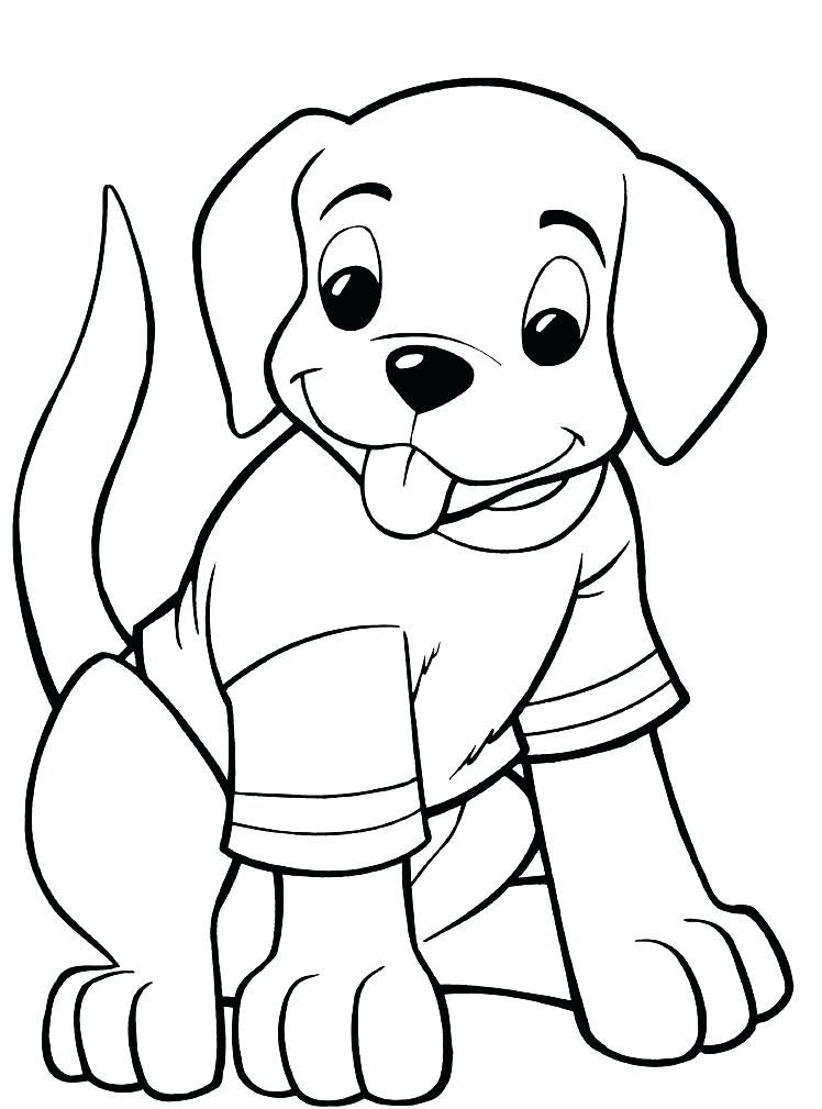 Image result for colouring pages | 6yyy | Dog coloring ...