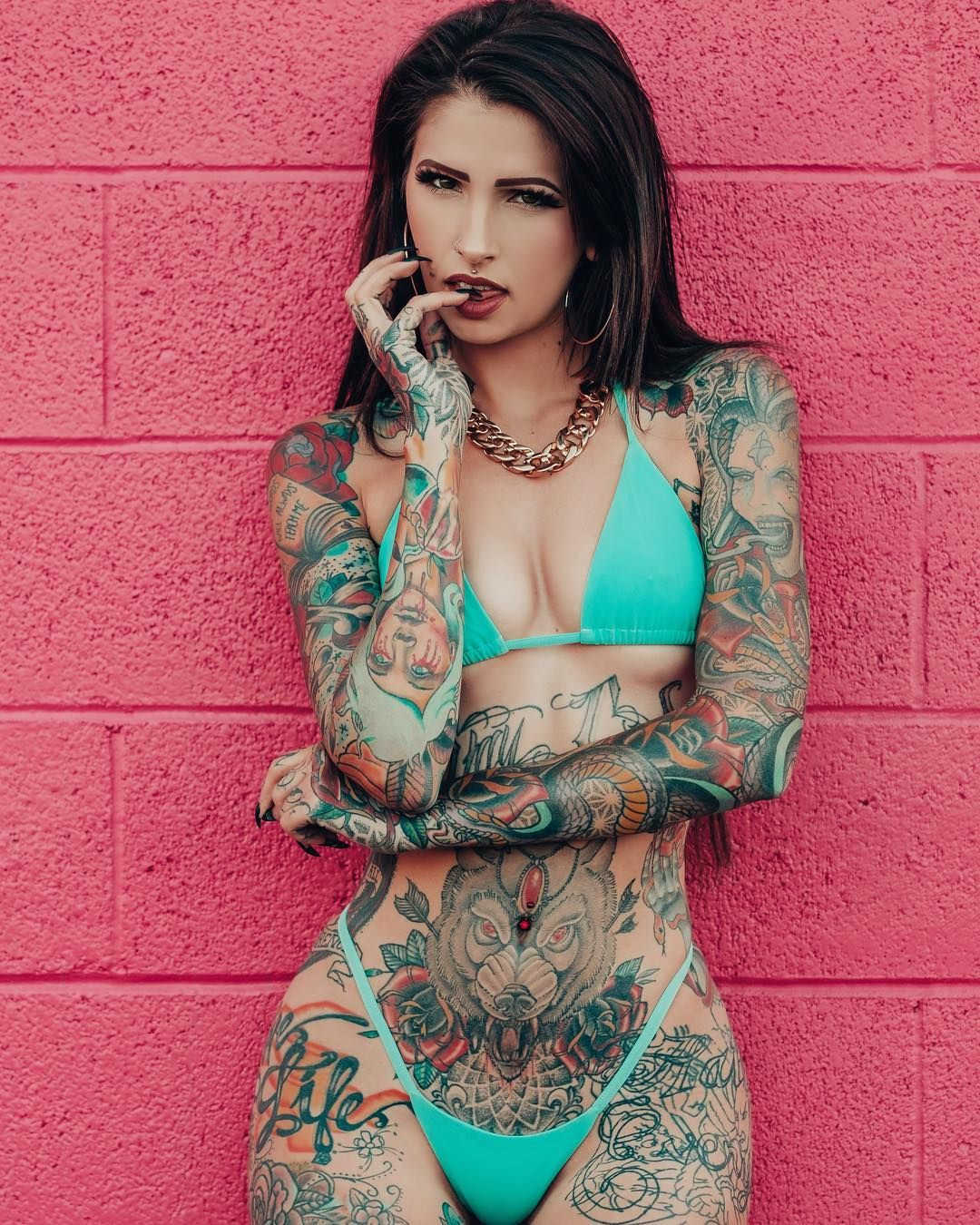 Hot tattoos on women nude #1