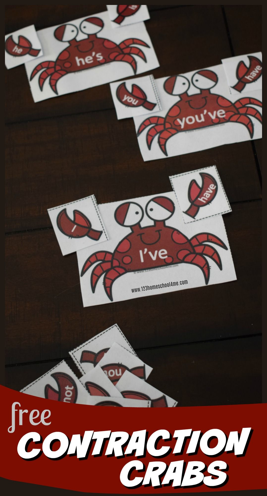 Crab Contraction Puzzles