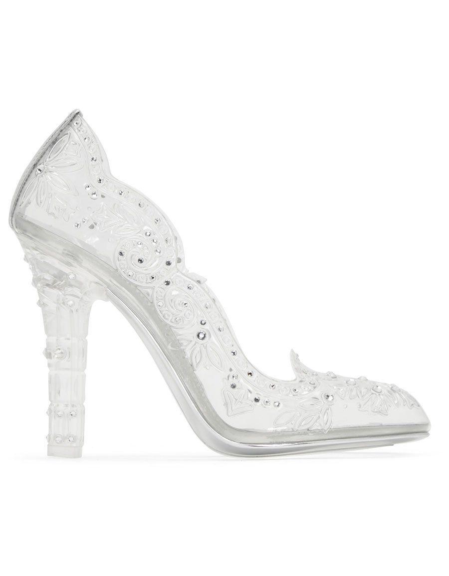 0aa89f8f835 DOLCE   GABBANA Silver Crystal Cinderella Pumps · VERGLE