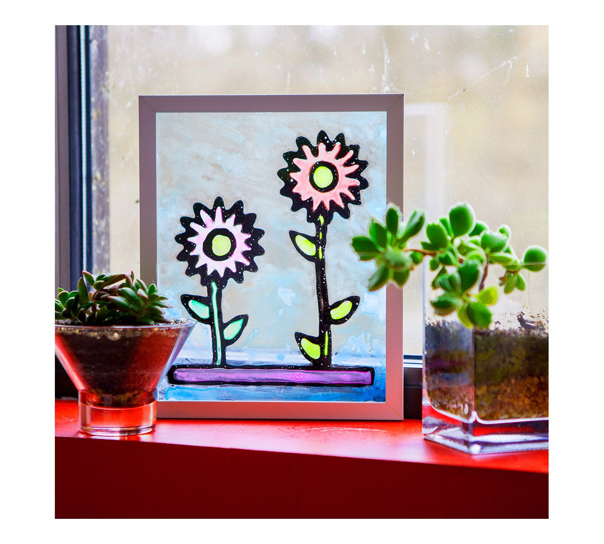 24++ Plastic stained glass craft kits information