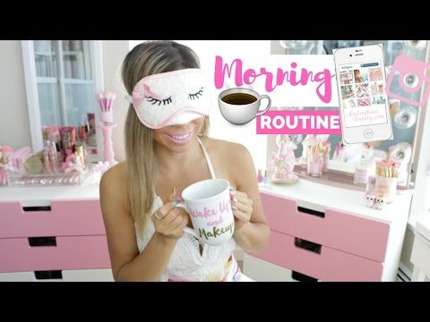 MY MORNING ROUTINE In My New Home- SLMissGlam♥♥ - YouTube