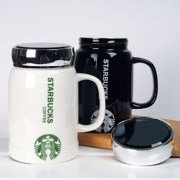 Hot 2019 New Starbucks Coffee Mugs with lid Water cup
