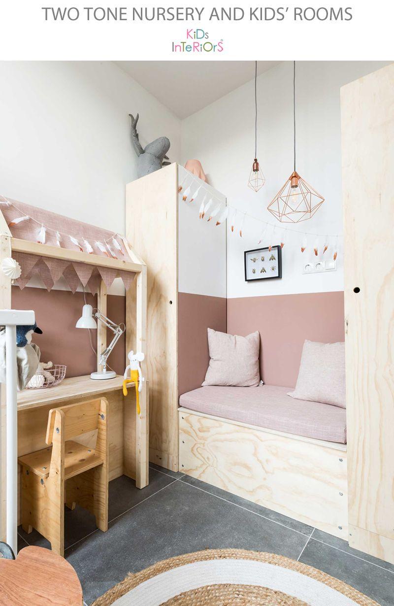 Two Tone Nursery and Kids' Rooms Çocuk Odası