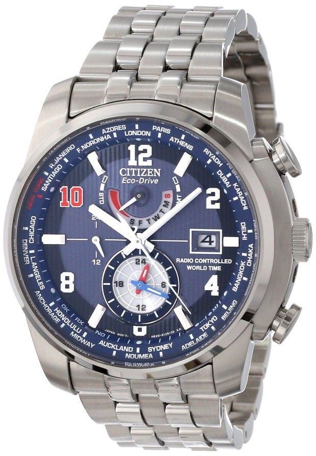 c31f158c66cf Citizen men watches   Citizen Men s AT9010-52M World Time A-T Eli Manning  Limited Edition Watch