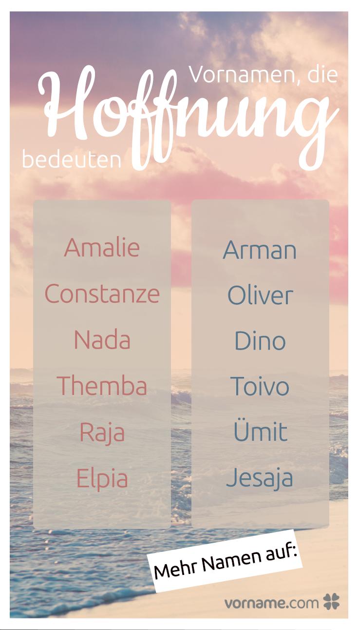 Schönste mädchennamen