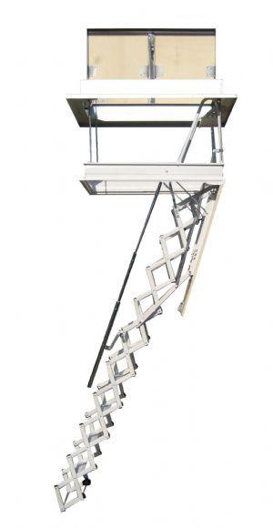 ELEGANT Escalera plegable tipo tijera para techo archivos | Pinterest