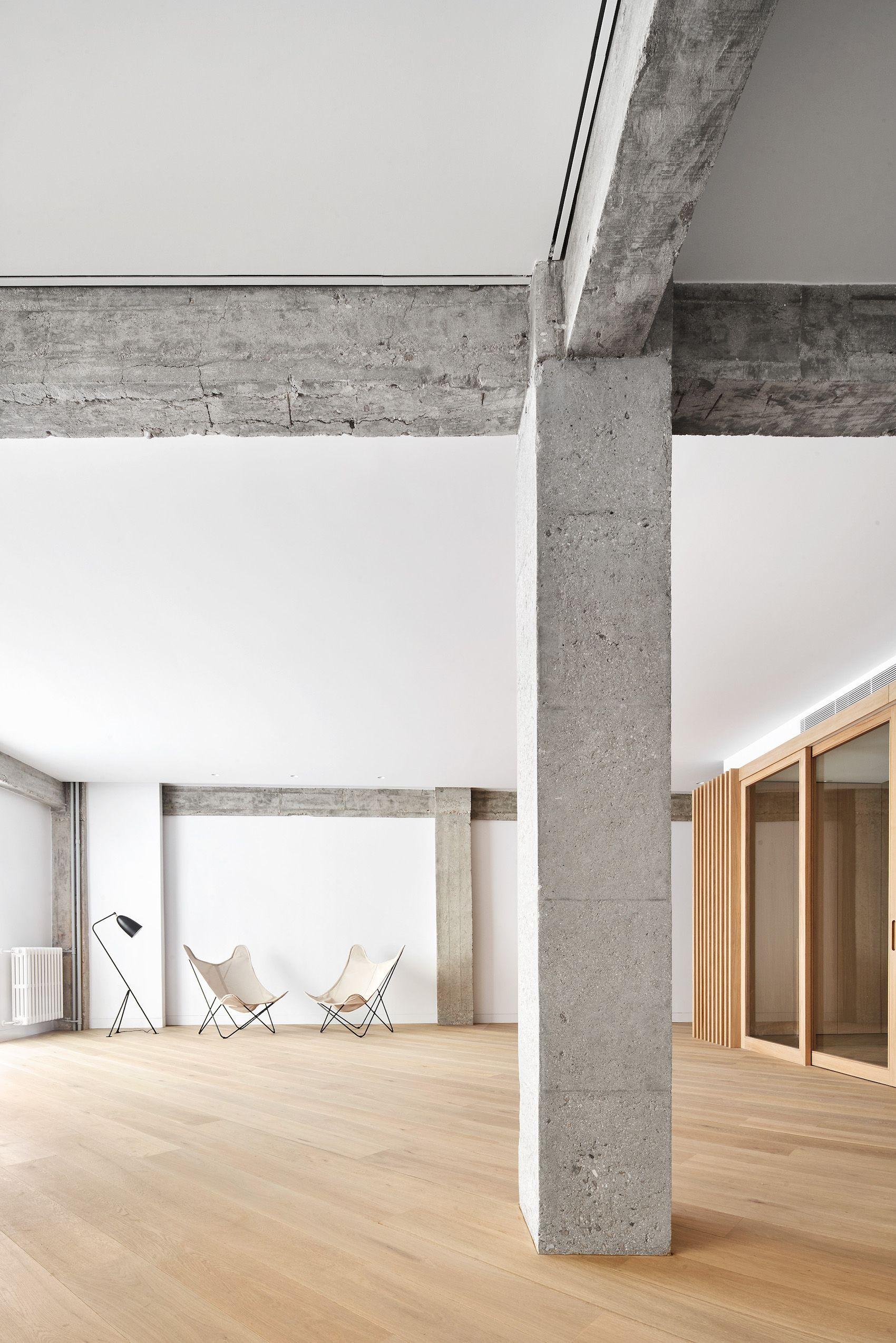 Casa C06 Minimalist Interior Concrete Interiors Wood Architecture