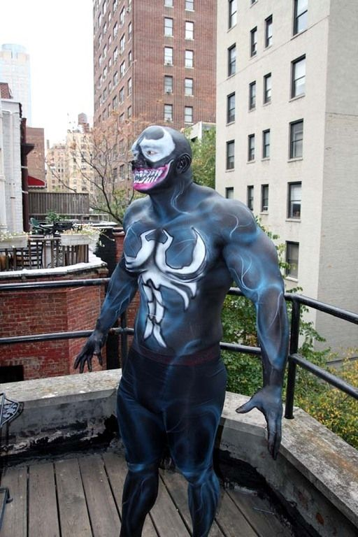 Body Painting NYC Halloween Makeup by Jane Doe Makeup for Webster ...