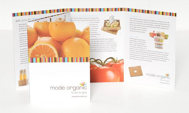 Mode Organic Brochure    View more on: http://blog.toopixel.ch