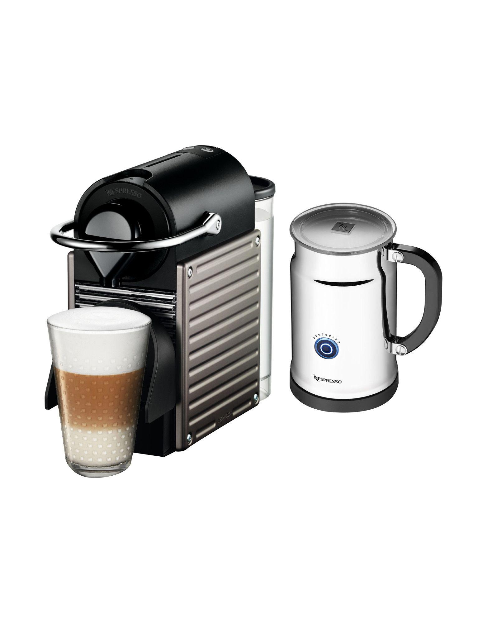 Pixie Espresso Maker with Aerocinno & Milk Frother