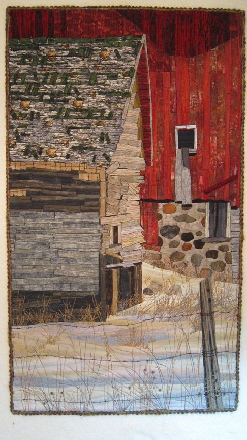Silent Farewell Is An Art Quilt Measuring  X 30 Living In Wisconsin And Surrounded Mainly By Dairy Farms I Have Grown Up With A Love Of
