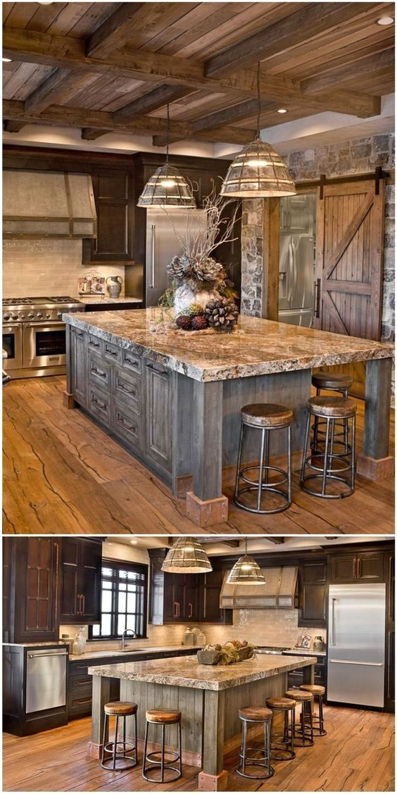 Pole Barns Click Pic For Lots Of Metal Building Ideas Barnhomes Polebarns Rustic Country Kitchens Rustic Kitchen Design Rustic Kitchen