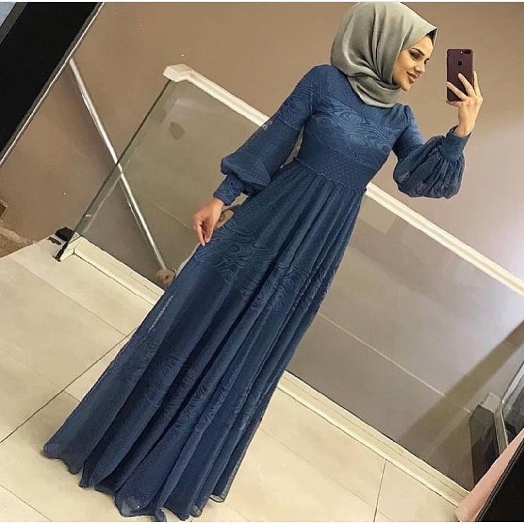 Hamzadere Tesettur Abiye Elbise Fiyat 129 Tl Tesettur Ferace Elbise Modelleri 2019 Elbise Modelleri Islami Giyim Elbise
