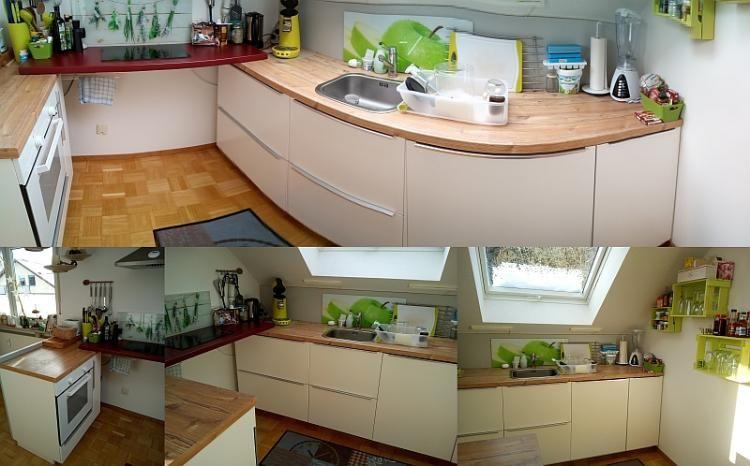 kleine Ikea-Küche Küchen Pinterest - küche landhausstil ikea