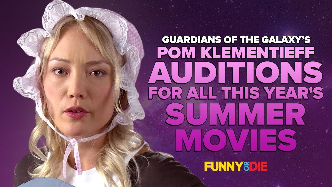 Guardians Of The Galaxy S Pom Klementieff Auditions For All This Year S Summer Movie Guardians Of The Galaxy Summer Blockbusters