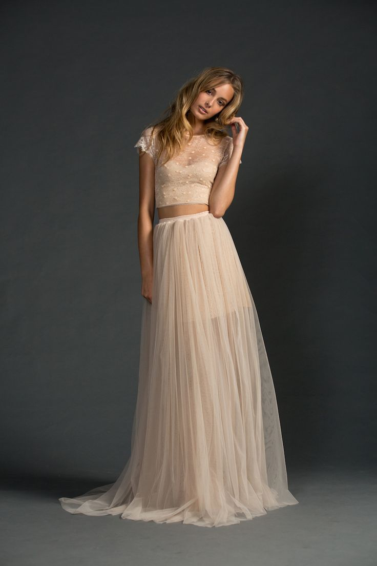 totally chic wedding dress separate ideas for unique brides