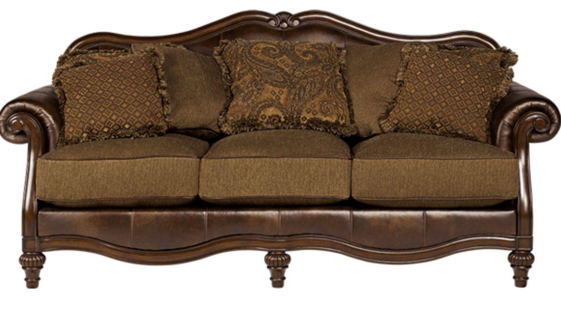 Ashley furniture sofa   Family Room Ideas   Pinterest