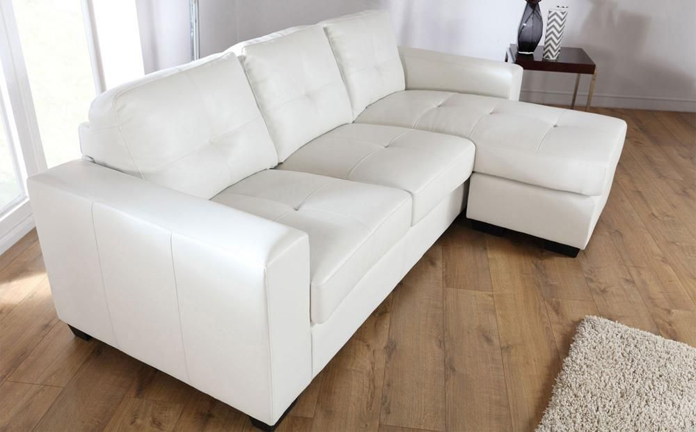 Rio Ivory Leather L Shape Corner Sofa Furniture Choice Corner Sofa Outdoor Corner Sofa With Ottoman Corner Sofa