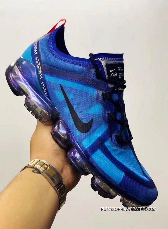 watch 42701 12273 Nike Air VaporMax 2019 Nike Air VaporMax 2019 Blue Sneaker Men AR6631-400  Best