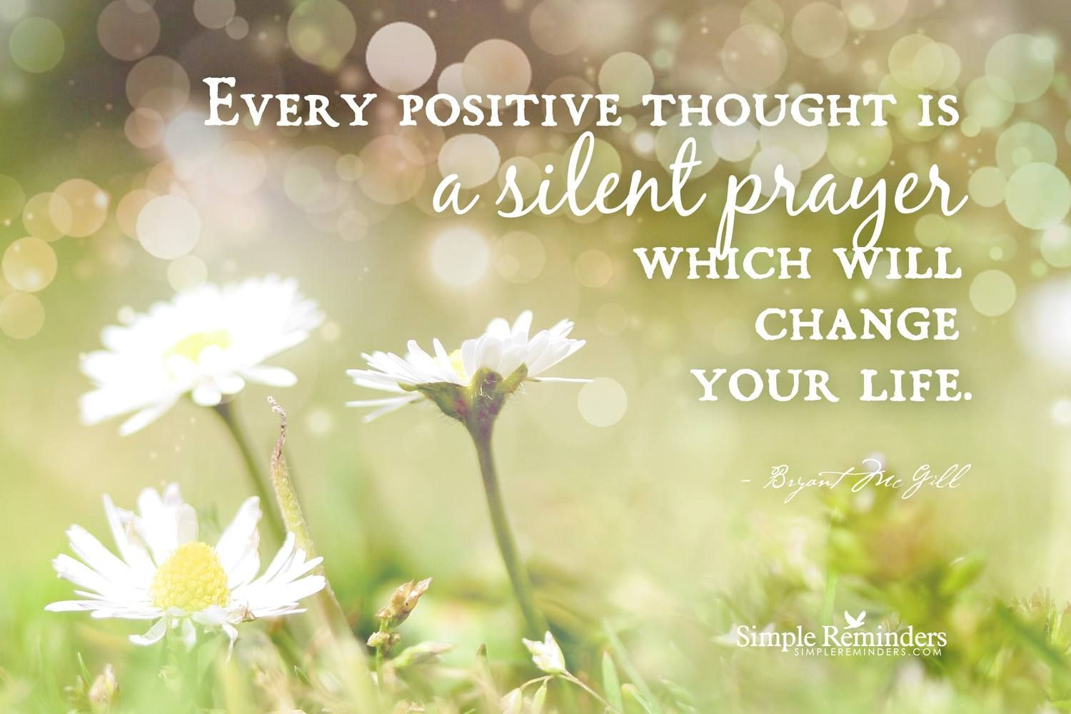 Every Positive Thoughta Silent Prayer Inspiredflow