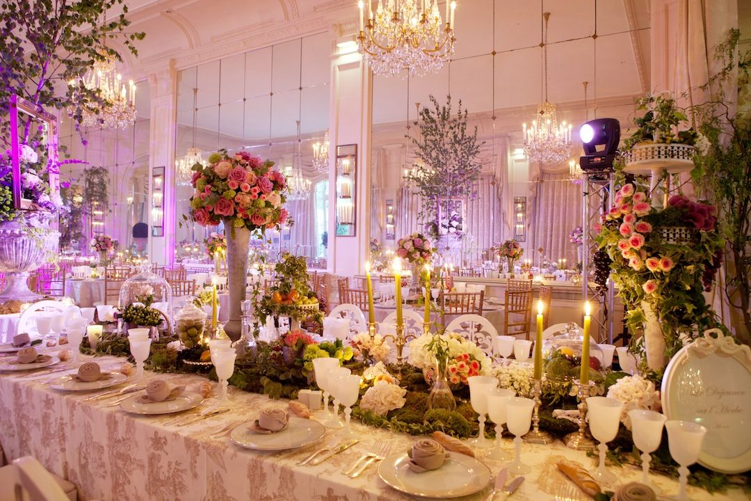 de boulogne de mariage decoration wedding decorations paris cafes ...