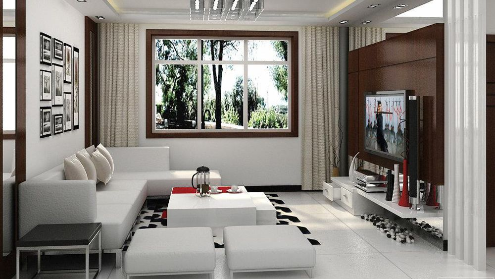 Design Ideas For Small Spaces Living Rooms Interesting 3D Modern Living Room Design Pictures  Living Room Design Ideas Decorating Design