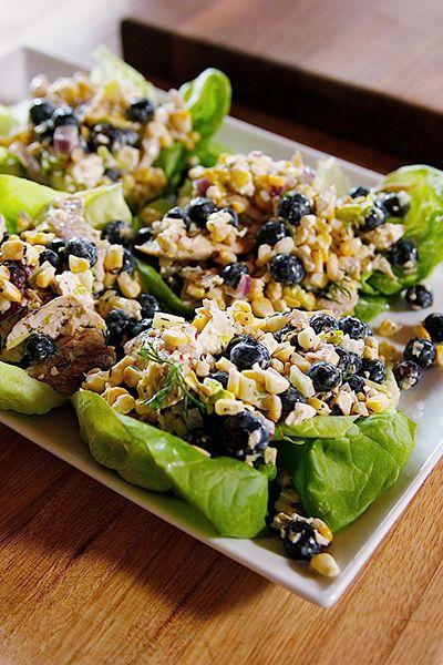 Summer Chicken Salad Recipe Recipes Pinterest Salad Chicken