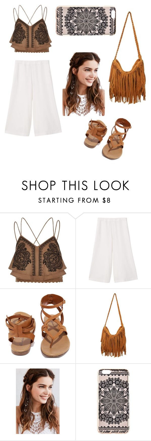 """""""Wear this when you're going to We The Fest! I really recommend it to you :)"""" by northwinddd ❤ liked on Polyvore featuring River Island, MANGO, Breckelle's, REGALROSE, New Look, bandtshirt, bandtee, whenyougoto and WeTheFest"""