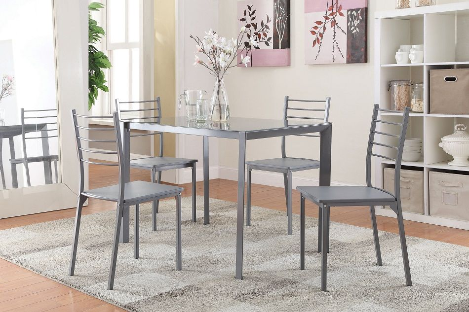 Small Grey Dining Table Set Grey Dining Tables Glass Top