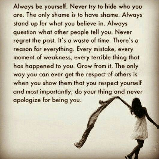 Respecting Life Quotes: Respect Yourself