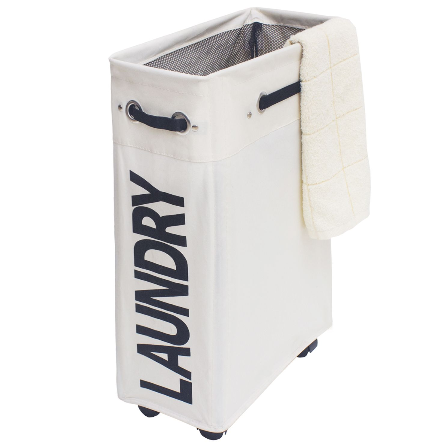 Laundry Basket On Wheels 24 Slim Laundry Hamper