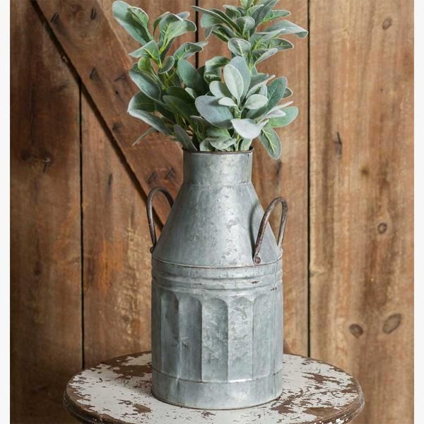 Cozycottage House: Milk Can Style Container, With Handles. #decor