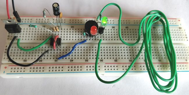 555 Timer Circuit Diagram Together With Doorbell Schematic With Light