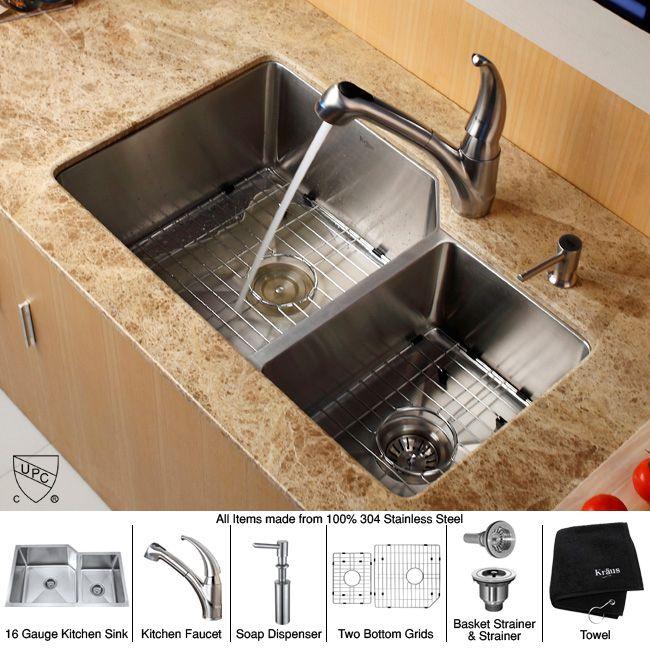 Undermount Kitchen Sinks Steel 32 Inch Undermount 70 30 Double Bowl Kitchen Sink With Kitchen Cheap Kitchen Sinks Stainless Steel Kitchen Sink Kitchen Faucet