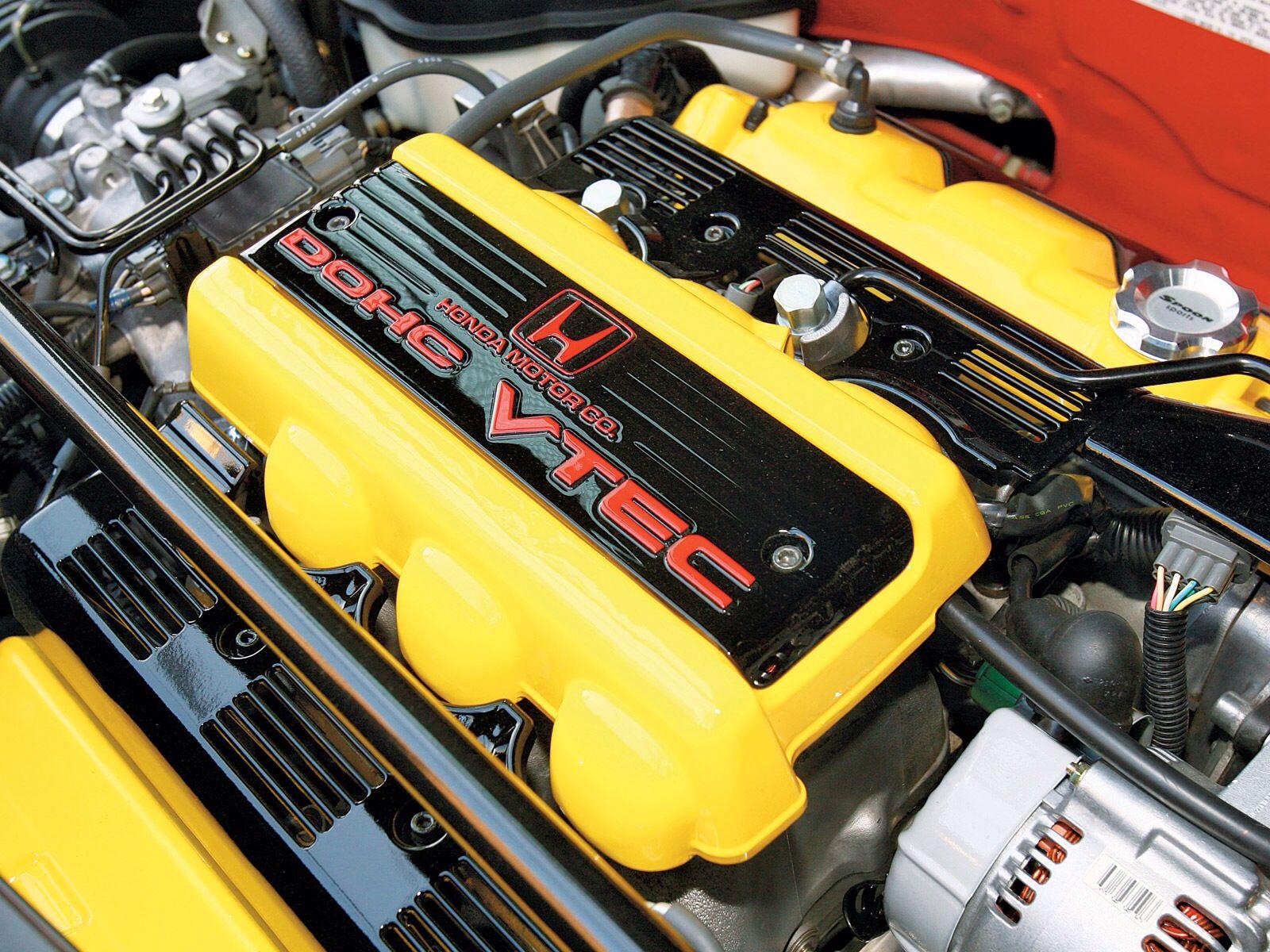 Honda NSX Engine Bay Pictures