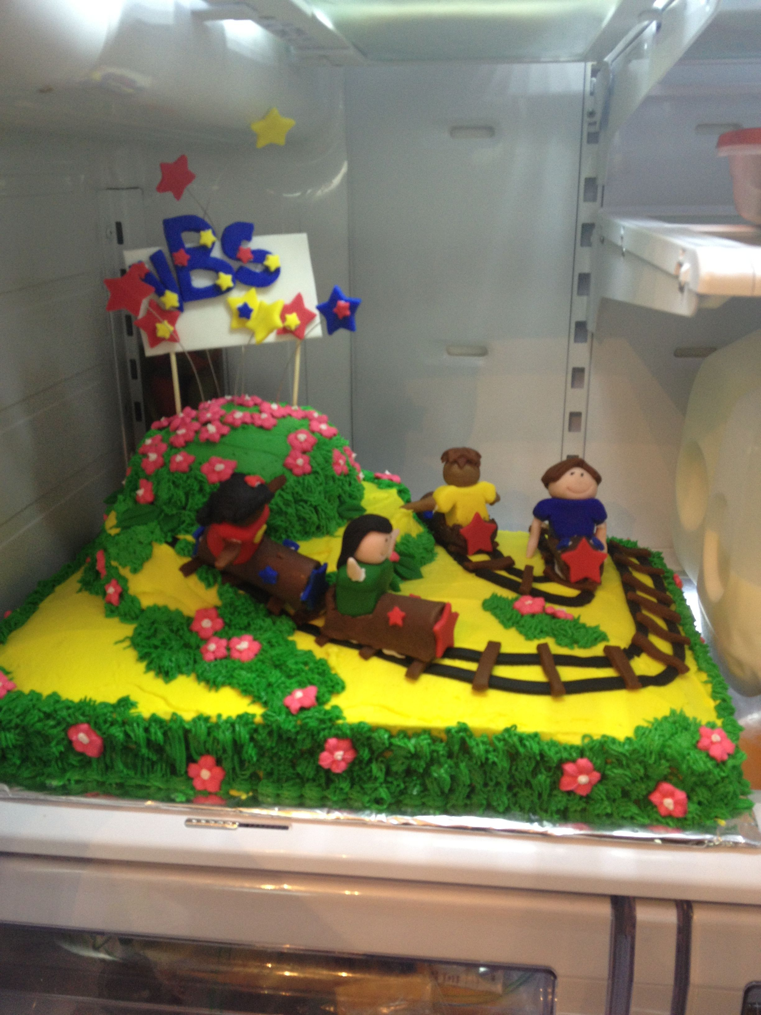 Roller Coaster Cake for Vacation Bible School 2013 ...
