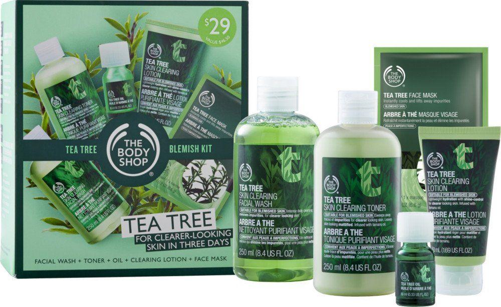The Body Shop Tea Tree Blemish Kit Ulta Com Cosmetics Fragrance Salon And Beauty Gifts Body Shop Tea Tree Tea Tree Face Mask Tea Tree Oil Face