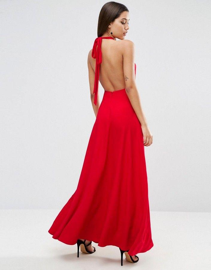 ec7b4b1c0b7 Asos Open Back Maxi Dress | summer fashion in 2019 | Dresses, Asos ...