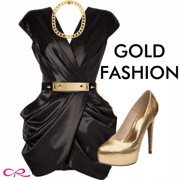 #Gold #Fashion #HeelsCR Unique and Admired
