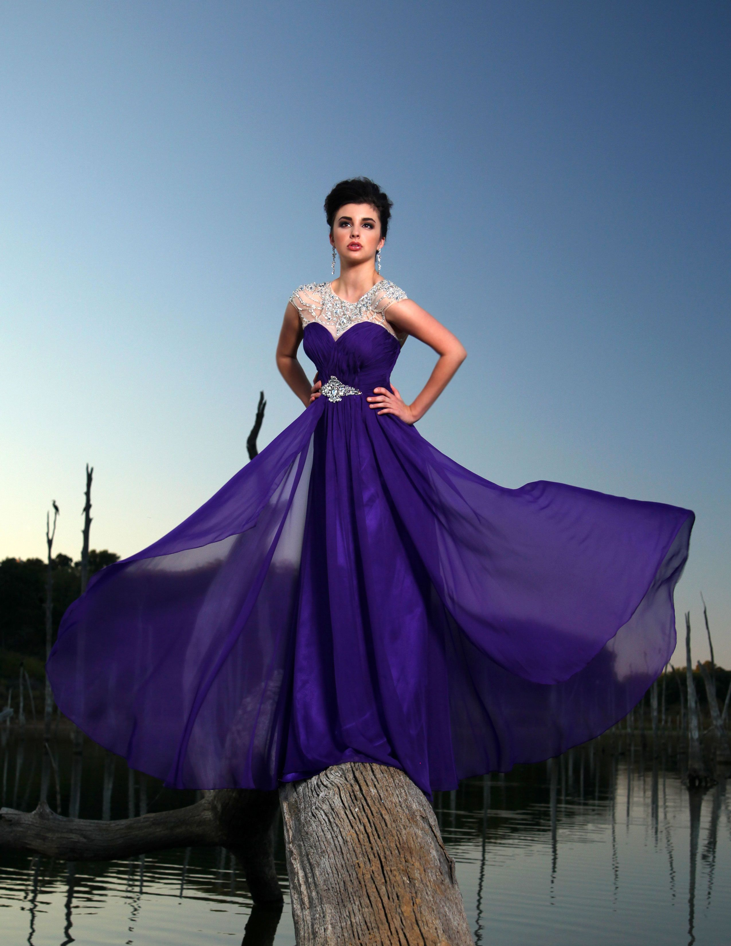 crazy elegant prom dresses with sleeves prom jewel and cap